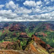 Pacific Grand Canyon Art Print