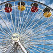 Pacific Park Ferris Wheel Art Print