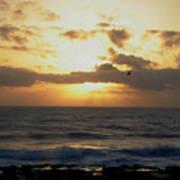 Pacific Sunset I Art Print