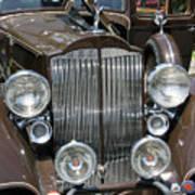 Packard Club Sedan Hood Art Print