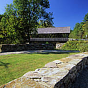 Packard Hill Covered Bridge - Lebanon New Hampshire  Art Print
