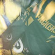 Packers Fan Art Print