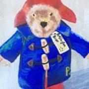 Paddington Bear Art Print