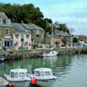Padstow Harbour - P4a16021 Art Print