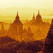 Pagodas Art Print