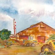 Paia Mill 3 Art Print