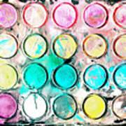 Paint Colors Art Print