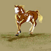 Paint Horse Art Print