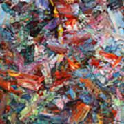 Paint Number 42-a Art Print