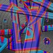 Painted Blades Art Print