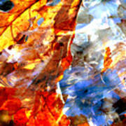 Painted Branches Abstract 1 Art Print