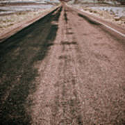 Painted Desert Road #4 Art Print