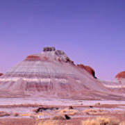 Painted Desert Tepees Art Print