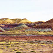 Painted Desert Winter 0602 Art Print