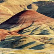 Painted Hills, Oregon Art Print
