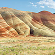 Painted Hills Pano 1 Art Print