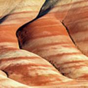 Painted Hills Stripes Art Print