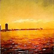 Painted In Waterlogue Art Print