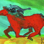 Painted Ponies - Spirit Rider Art Print