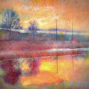 Painted Reflections Art Print