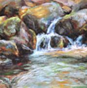 Painted Rocks Art Print