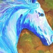Painted Stallion Art Print