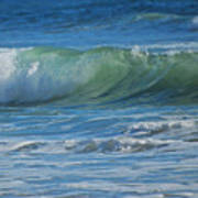 Painterly Waves Art Print