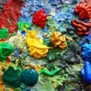 Painters Palette Art Print
