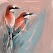 Painting 662 2 Bird 9 Art Print