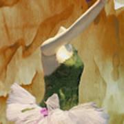 Painting A Ballet Dream Art Print