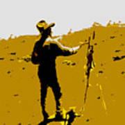 Painting Cowboy Art Print