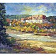 Painting In New Mexico Art Print