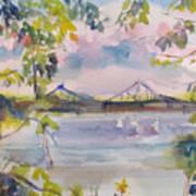 Painting In Nyack Art Print