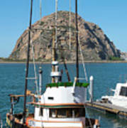 Painting The Trudy S Morro Bay Art Print