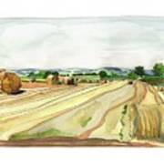 Paizay-le-tort, Au Sud Des Deux-sevres Art Print