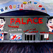 Palace Amusements Asbury Park Nj Art Print