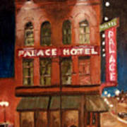 Palace Hotel Art Print