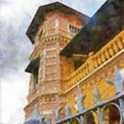 Palace Of The Iturriza Art Print
