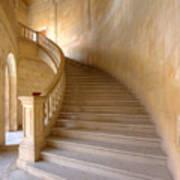 Palace Staircase Art Print