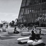 Palais Des Festivals Et Des Congres Art Print