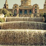 Palau Nacional Barcelona Art Print