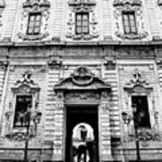 Palazzo Dei Celestini Art Print