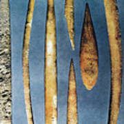 Paleolithic Spears Art Print