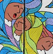 Palestinian Women Art Print