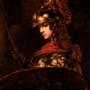 Pallas Athena  Art Print