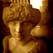 Pallas Au Parthenon Art Print