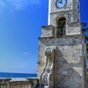 Palm Beach Clock Tower  Art Print
