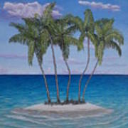 Palm Island Art Print