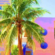 Palm Of Miami Art Print