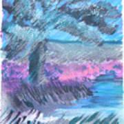 Palm Of The Night Art Print